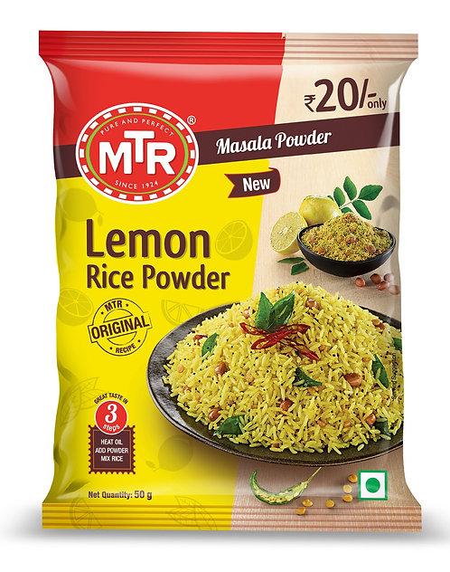 MTR  Lemon Rice Powder 50 gm