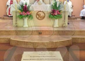 Los tres primeros obispos de la diócesis de Puerto Iguazú