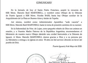 DESIGNACIÓN NUEVO OBISPO DE PUERTO IGUAZÚ