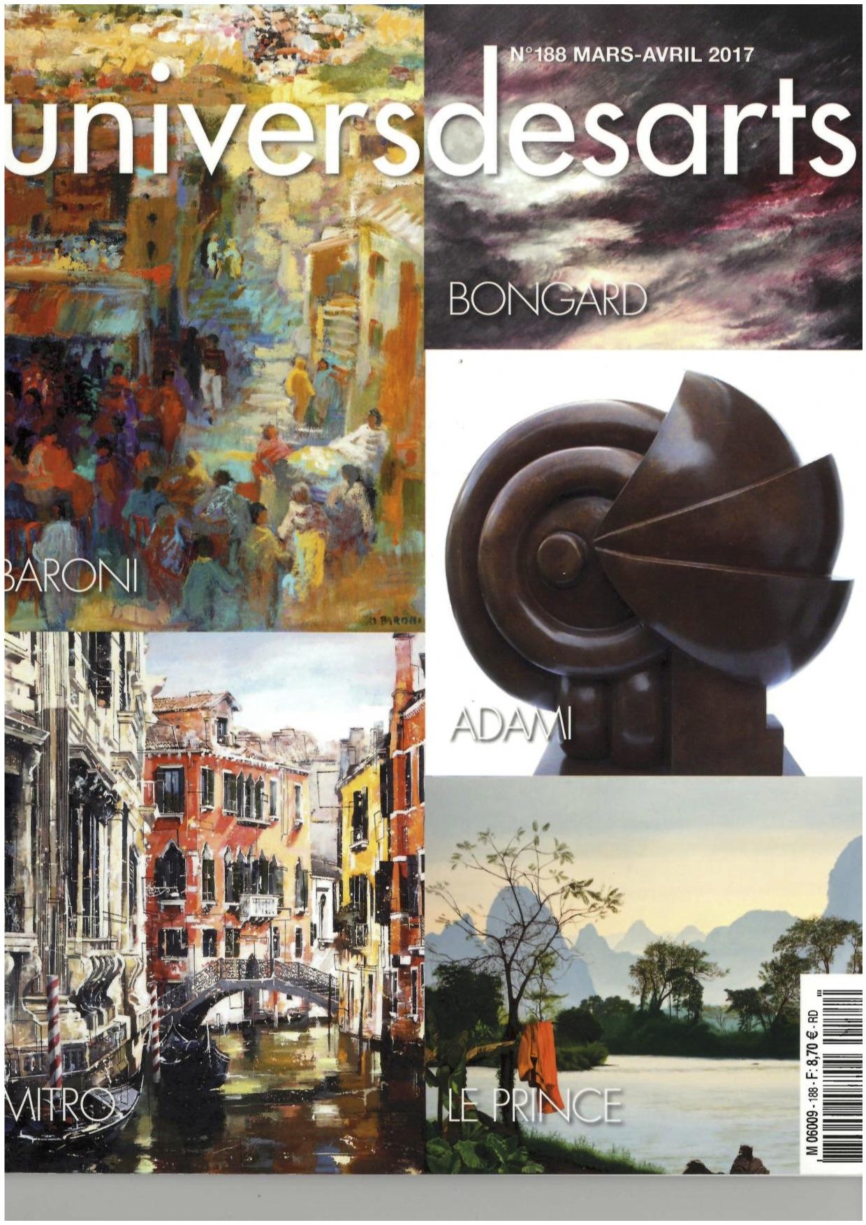 Univers des Arts n°188