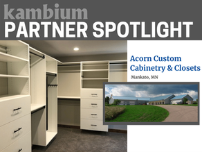 Partner Showcase: Acorn Custom Cabinetry and Closets