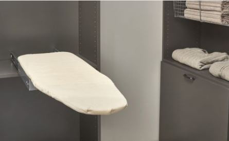 Closet Accessories -Fold Out Ironing Board - Closet Design Minnesota