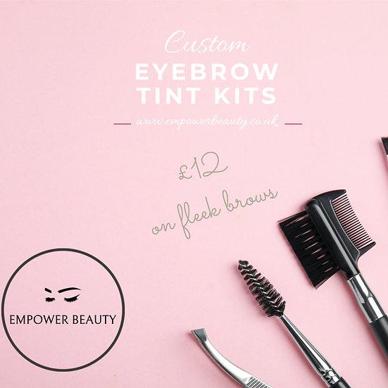 Custom Eyebrow Tint Kits