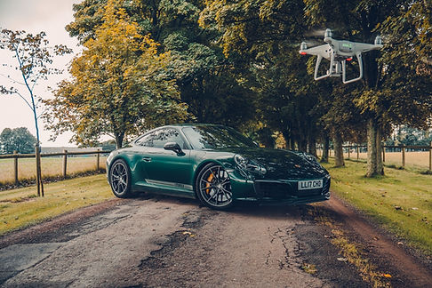 Drone shoot carried out for Motorflix