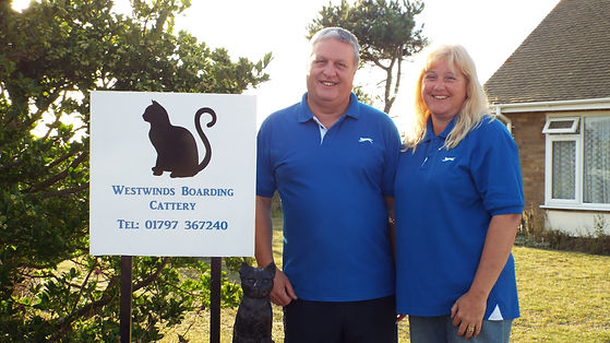 Westwinds Cattery Sign and Logo