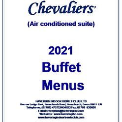 Buffet Menus 2021