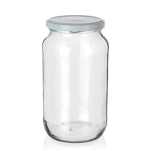 Respiration measuring glass jar 1056 ml