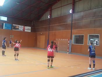 Club Handbol Vilamajor 30-33 Cadet femení