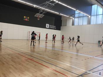 Cadet femení 21 -17 Handbol Cooperativa Sant Boi