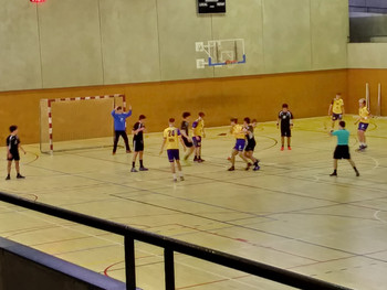 JuvenilMasculí 23 – 26 Club Handbol Igualada