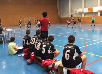 Club Handbol Vic 31- 19 Infantil Masculí Negre