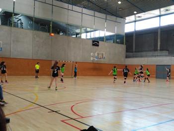 Infantil Femení 9 – 18 Club Handbol Ascó