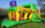 Gerry Giraffe inflatable castle
