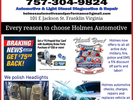 So many reasons to choose Holmes Automotive