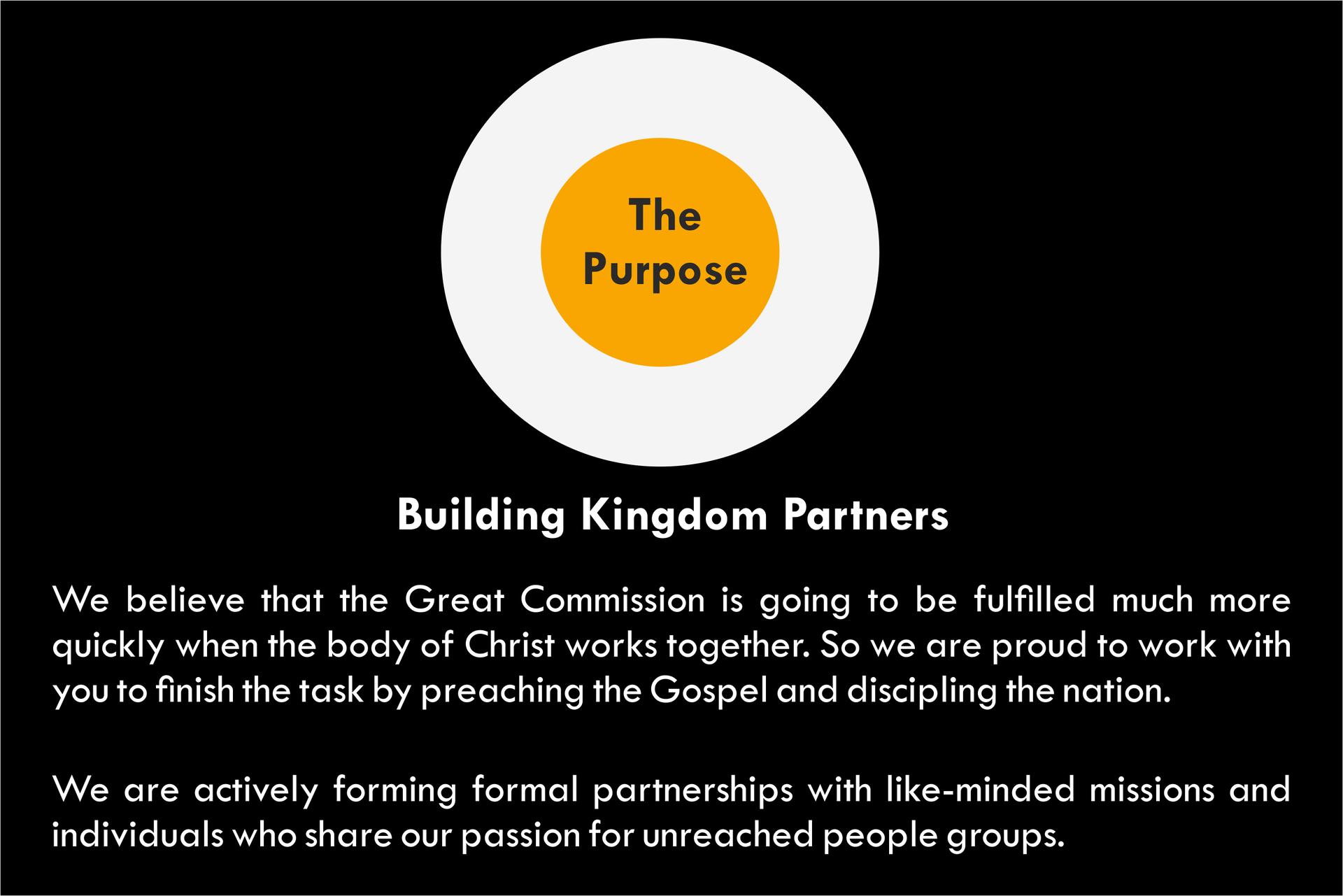 Building Kingdom Partners