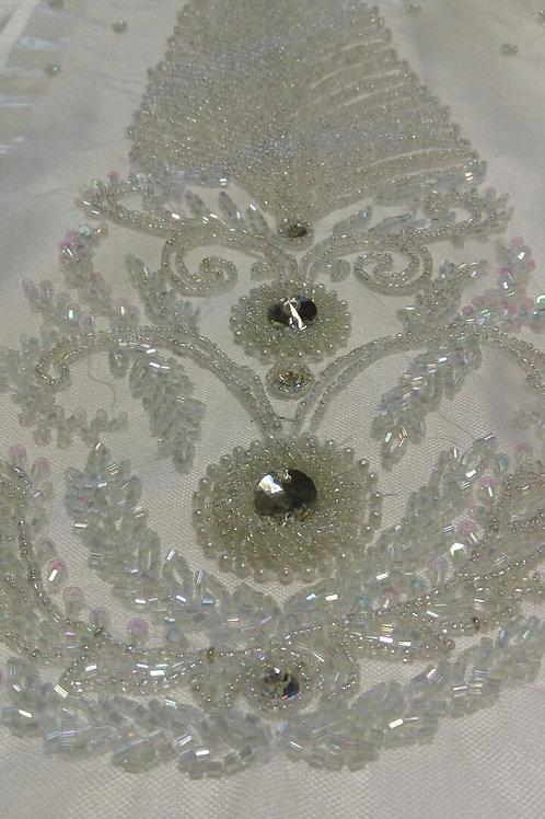 Demi - clear, rainbow, clear cut beads