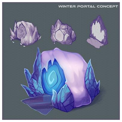 Isometric Ice Portal