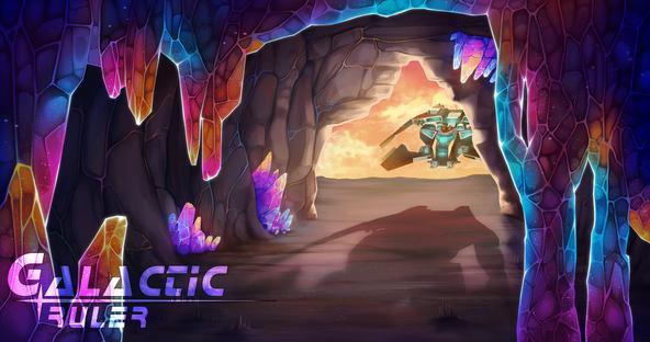 Galactic Ruler Crystal Loading Screen
