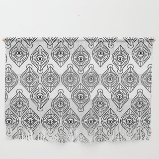 All in the Eyes Wall Hanging
