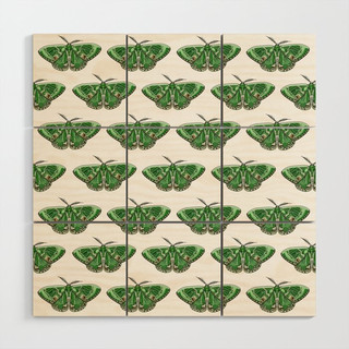 The Green Giant Pattern Wood Wall Art