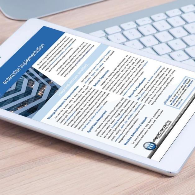 Brochures | Integrated Informatics Inc.