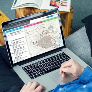 Web Map & Dashboard for COVID-19 Testing Locations   Harris County Public Health