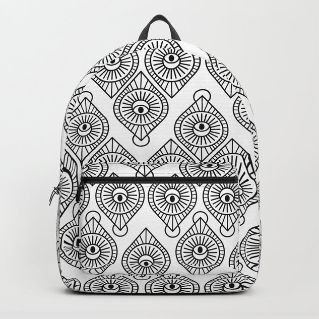 All in the Eyes Backpack