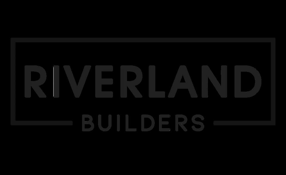 New logo design for Riverland Builders construction company in Charleston, South Carolina