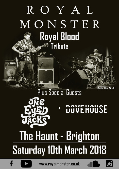We're heading to Royal Blood's hometown!
