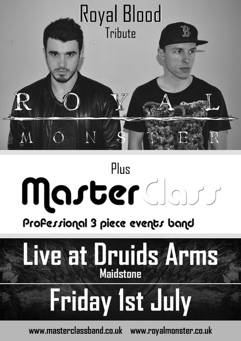 Live at Druids Arms, Maidstone Fri 1st July