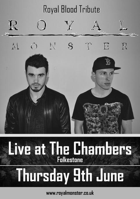 Live at The Chambers, Folkestone Thu 9th June