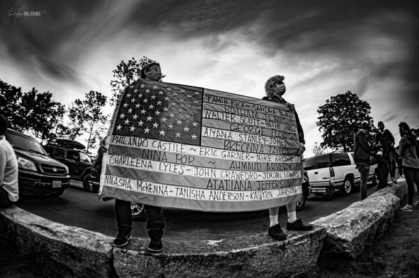 Black Lives Matter, Franklin Park, Massachusetts