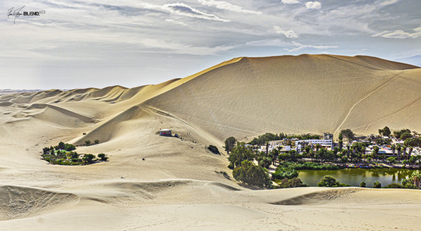 Dunes, Huacachina, Peru