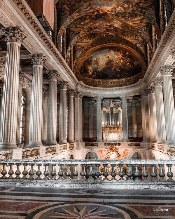 The Royal Chapel, Palace of Versailles, France