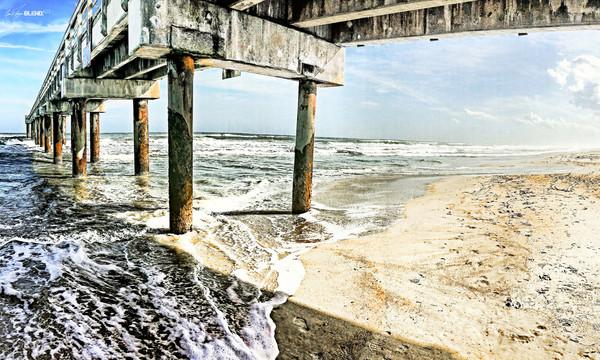 Flagler Pier, St. Augustine, Florida