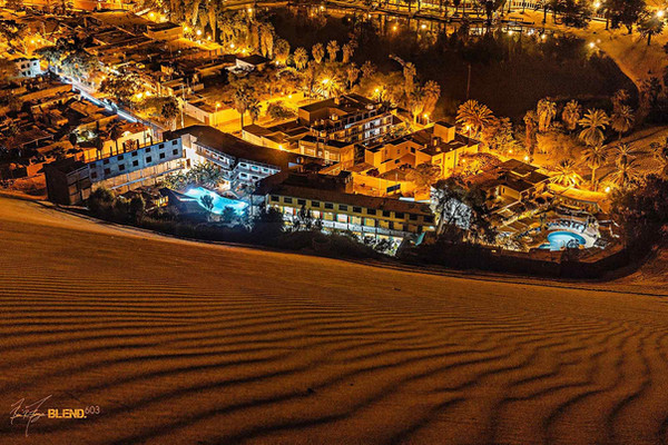 Night Dunes, Huacachina, Peru