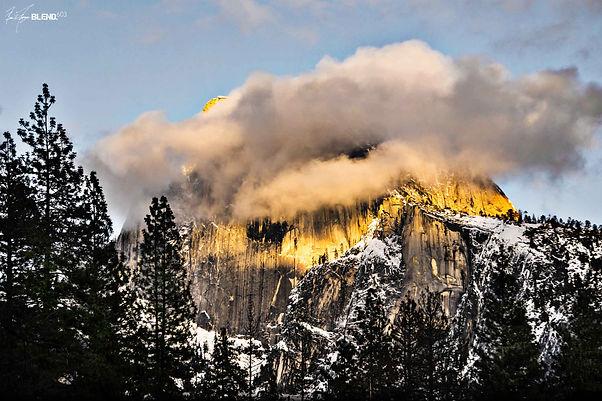 "Yosemite National Park, California | ""Half Dome Hover"""