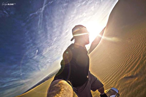 Into The Sun, Huacachina, Peru