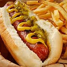 Hot Dog And Fries Combo