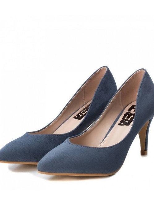 Zapato de mujer celeste 440004
