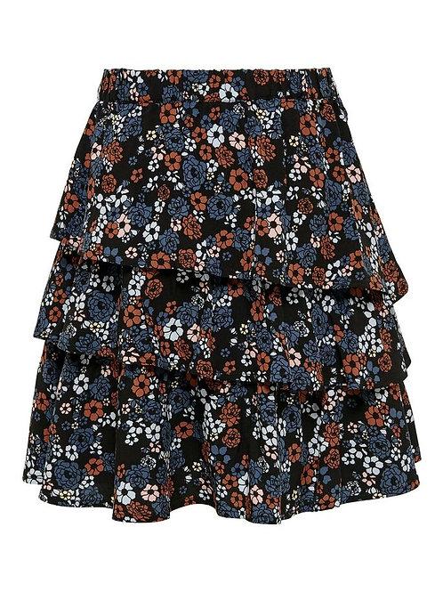 Falda estampada flores 420005