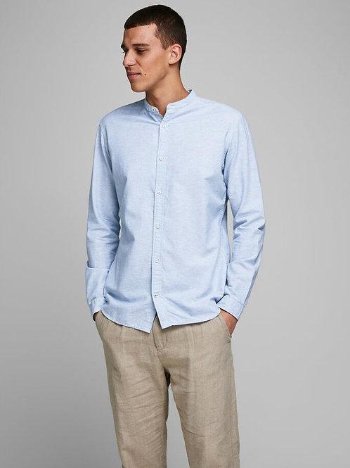 Camisa lino cuello mao JJ 4400076