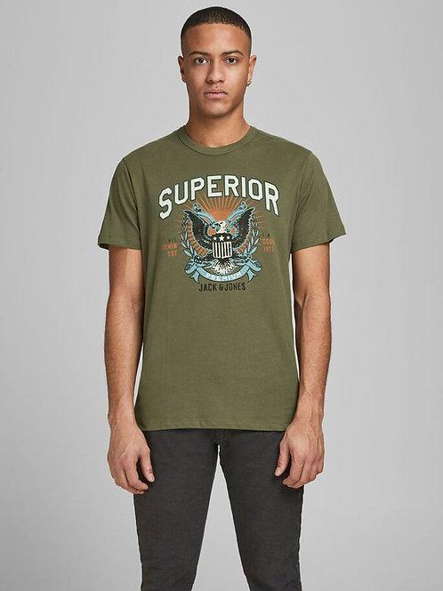 Camiseta J&J 824681 verde