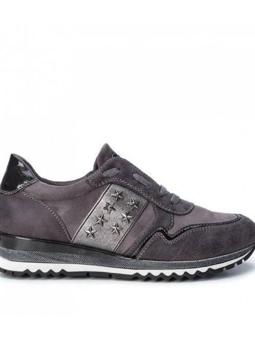 Zapatillas metalizada 440006