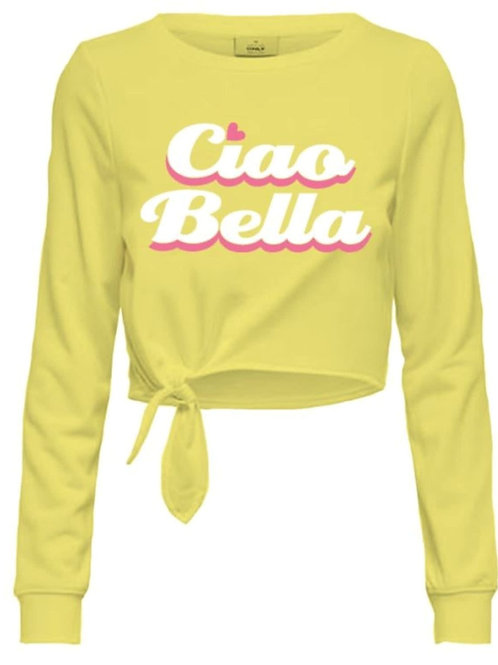 Jersey niña Ciao Bella amarillo