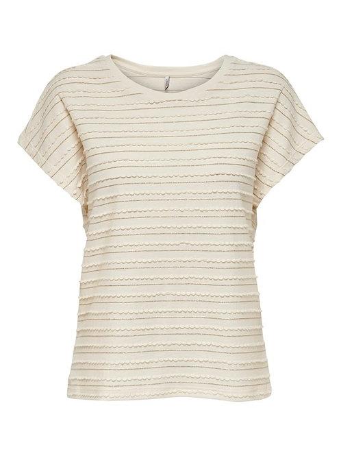 Camiseta líneas doradas 340007