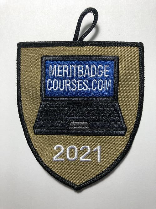 Limited Edition MeritBadgeCourses.com 2021 Patch