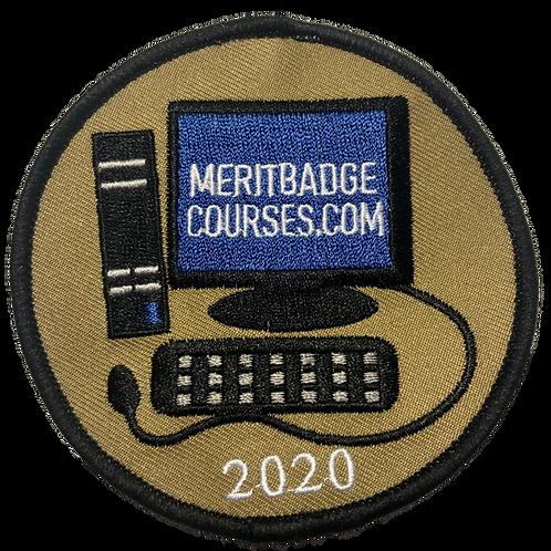 Limited Edition MeritBadgeCourses.com 2020 Patch