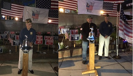 Reading Names of the Fallen at the 9/11/2021 Ceremony