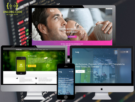 Building creative, professional and responsive website